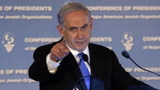 Israël legt toespraak Netanyahu aan banden