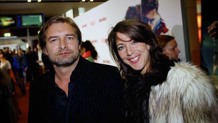 Victor Reinier met partner bij Iron Man 3.