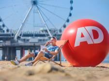 Afscheid van de zomer in Scheveningen: 'Je schrijft toch hopelijk wel een beetje positief?'