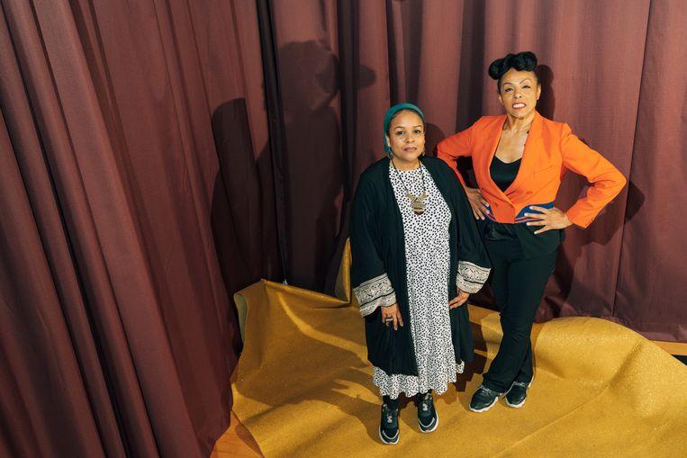 Sukina Douglas en Marie Daulne Beeld Illias Teirlinck