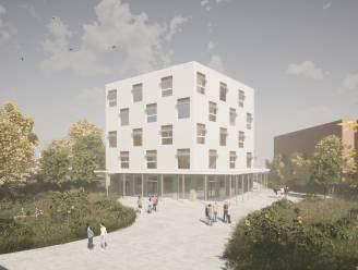 COLOMAplus hertekent skyline met leertoren voor 250 leerlingen