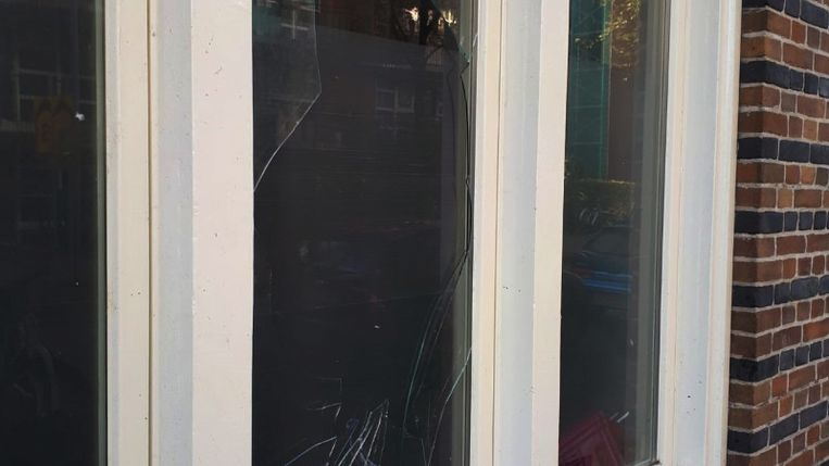 De politie vermoedt dat de verdachte het explosief heeft laten ontploffen wegens problemen in de 'relationele sfeer'. Beeld Politie.nl