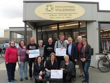 Cheques voor goede doelen Kringloopwinkels Vollenhove-Steenwijk