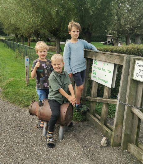 Spaarvarken kinderboerderij Cantecleer Kampen teruggevonden, maar wel leeg