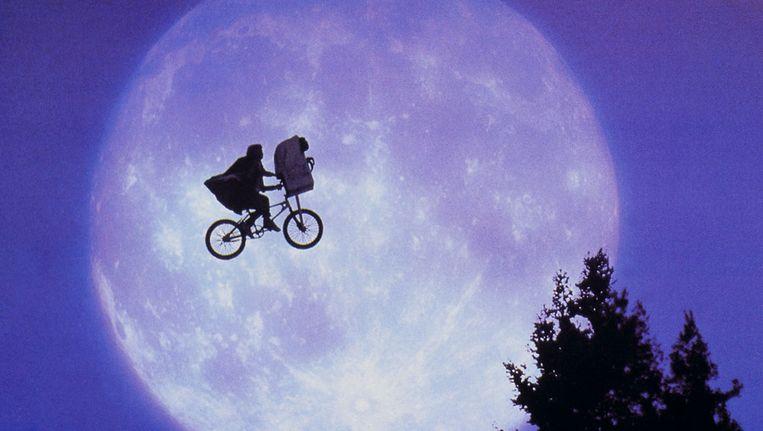 Wellicht de beroemdste scène uit E.T.. © Kippa Beeld