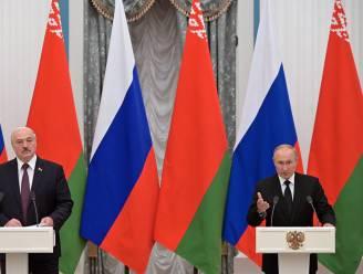 """Poetin: """"Mogelijk vrijdag akkoord over confederatie van Rusland en Wit-Rusland"""""""