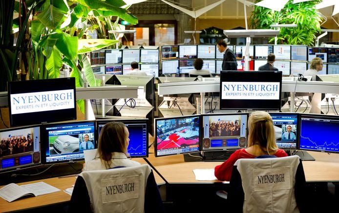 De vernieuwde beurs NYSE Euronext maandag Amsterdam