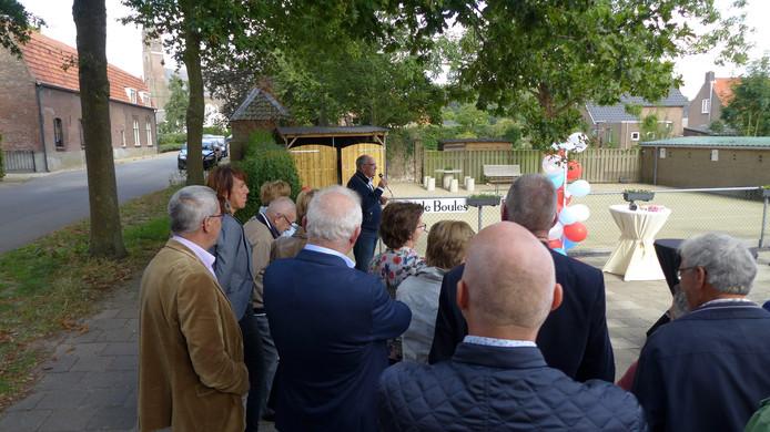 Burgemeester Henny van Kooten verrichtte de officiële opening.