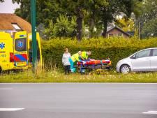 Vrouw lichtgewond na kop-staartbotsing op Bunschoterstraat in Hoogland