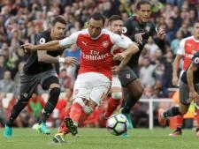 Cazorla na lang blessureleed weg bij Arsenal