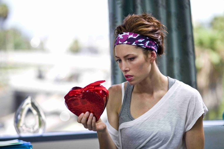 Jessica Biel in Valentine's Day van Garry Marshall Beeld