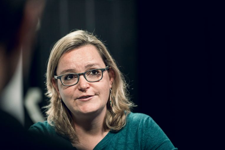 Groen-parlementslid Barbara Creemers. Beeld Karolien Coenen