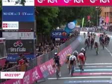 Tim Merlier s'impose au sprint, première victoire belge sur le Tour d'Italie 2021