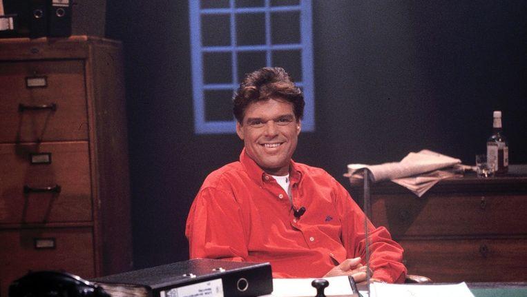 Menno Buck in 1997 als presentator van Seks voor de Buch Beeld ANP