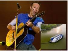 Coldplay koopt Rotterdamse 'rivierstofzuiger' voor strijd tegen plastic soep