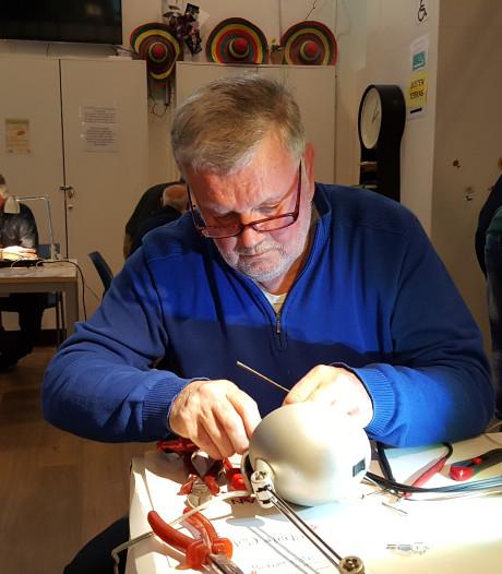 Repair Café Oss voorziet ook na 5 jaar in een duidelijke behoefte