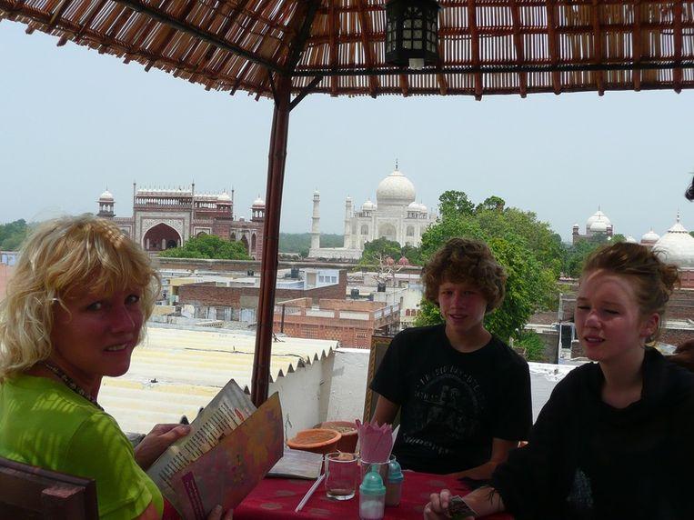 Trekpleister, Taj Mahal, fam. Wijnen, Schumacher 2010 Beeld null