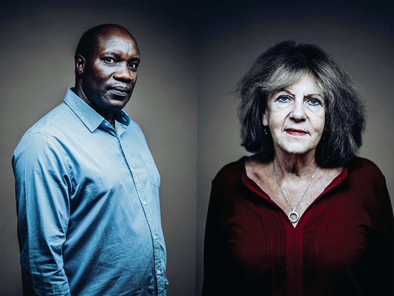 Jacques Rwigenza verloor zijn vader in de genocide, Martine Beckers haar zus. Allebei stellen ze zich burgerlijke partij tegen Fabien Neretse.