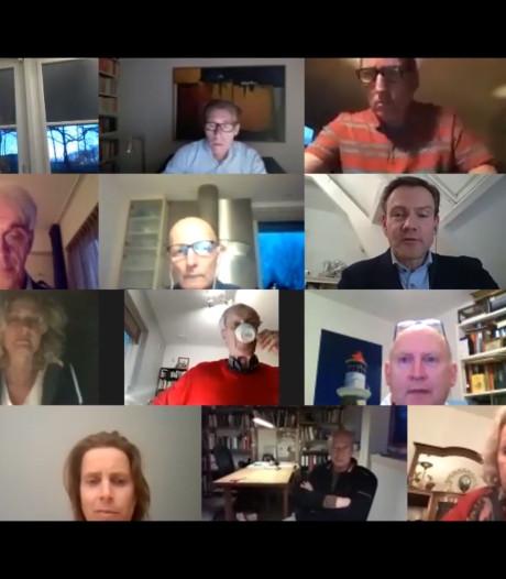 Politiek Rozendaal draait door met live-vergadering via YouTube: 'Een pluim waard'
