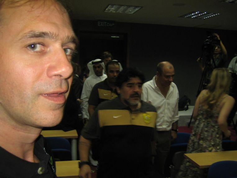 Diego Maradona Beeld Jan Hauspie/HUMO