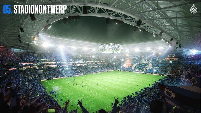 Club Brugge voorstelling nieuw stadion