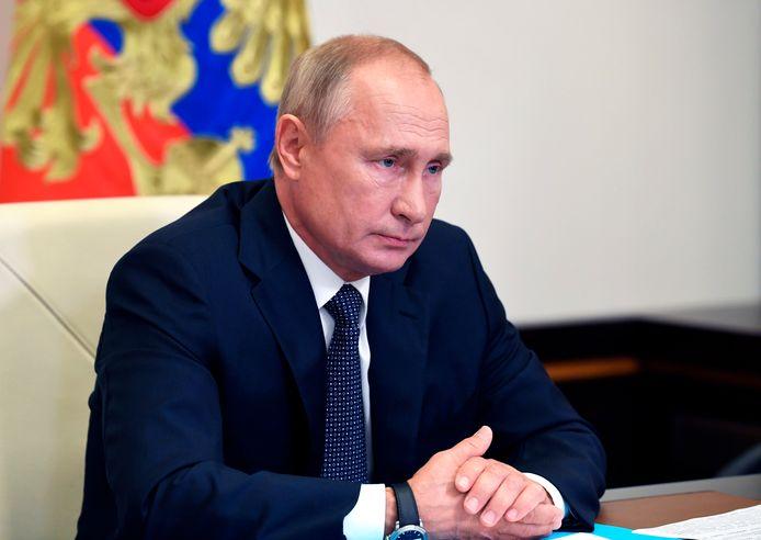 Vladimir Poetin.