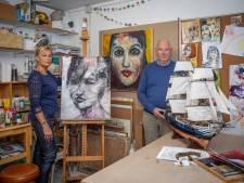 Barbara schildert, Hans bouwt scheepjes: bij Cultuur uit de Zak is plaats voor álle kunst