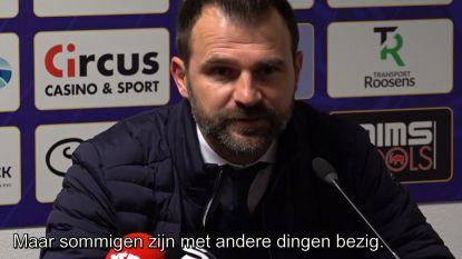 """""""Leko zit in nood op de flanken, dus ik denk dat hij na Waasland-Beveren die spelers op de korrel nam"""""""