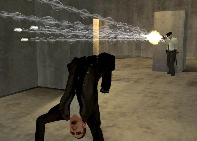 Screenshot van Enter the Matrix (2003). Beeld