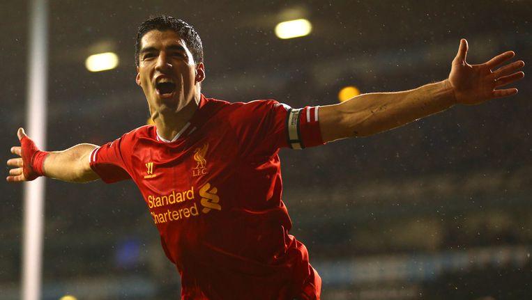 Luis Suárez was weer eens de grote man aan de kant van Liverpool. Beeld getty