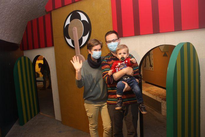 Het gezin Sorel geniet van een uitstap naar de Tik Tak-expo in Oostende.