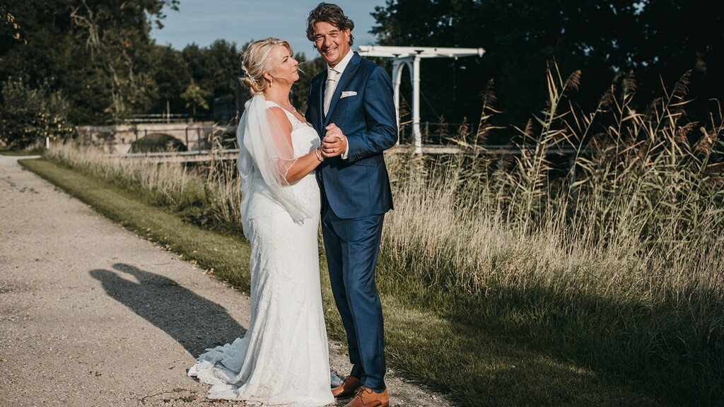 Aron en Monique in Married at first sight.