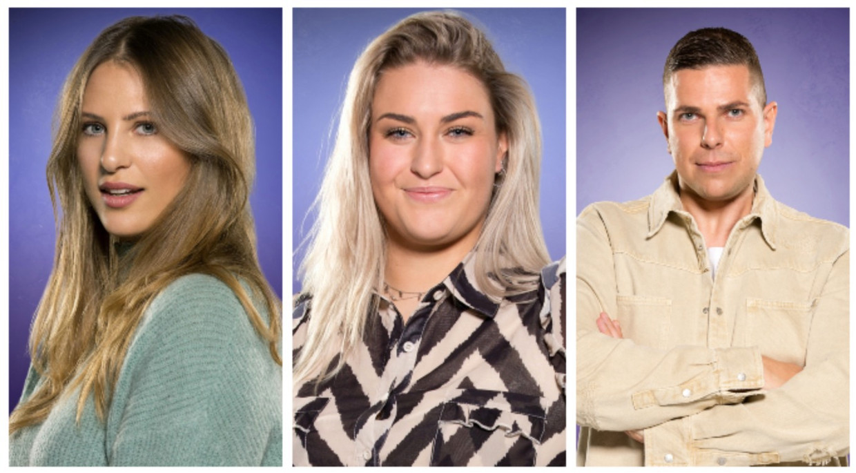 Big Brother - finalisten Liese, Jill en Nick Beeld RV