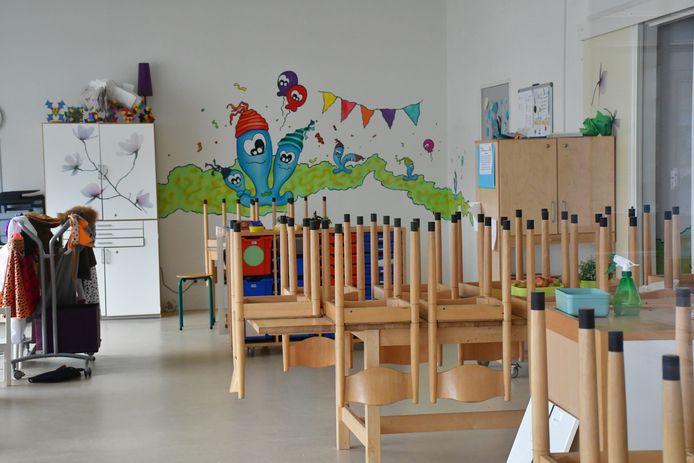 Lege schoolklassen en kinderdagveblijven corona