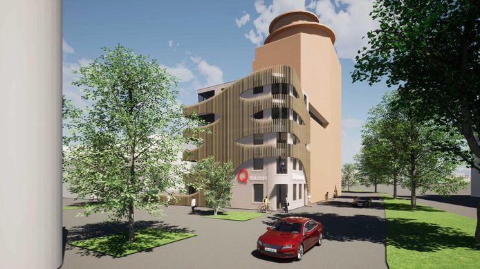 Een impressie van het nieuwe wooncomplex Wittstaete.