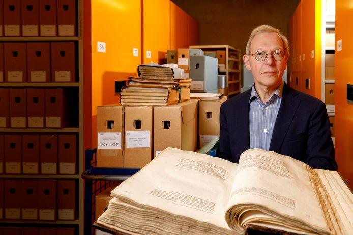 Den Bosch, 12 juli 2021 rijksarchivaris Jan Sanders van het BHIC
