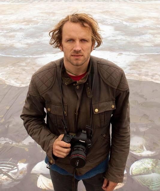 Kunstenaar-fotograaf Wim Tellier.