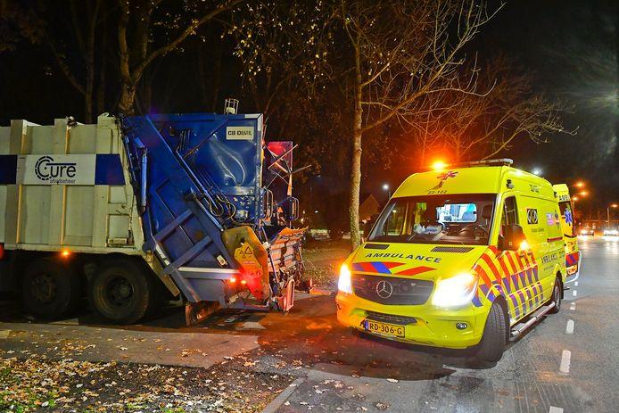 Scooterrijder gewond door ongeluk in Valkenswaard.