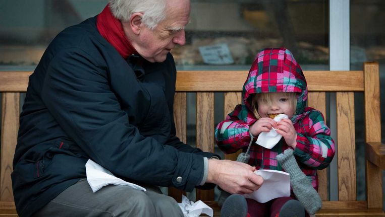 Grootouders moeten bij echtscheidingen meer mogelijkheden krijgen om contact te kunnen blijven houden met hun kleinkinderen. Beeld anp