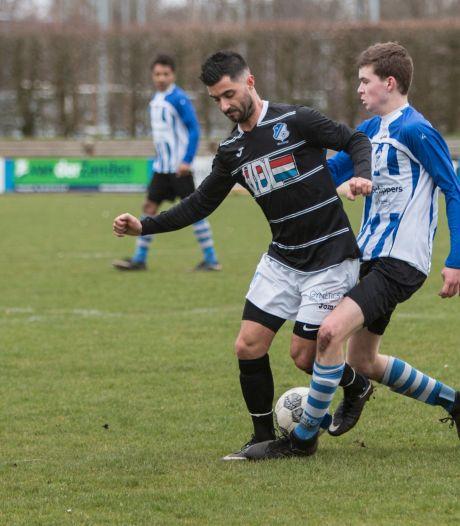 Michel Leon-Payo van FC Eindhoven AV houdt het voetballen voorlopig even voor gezien
