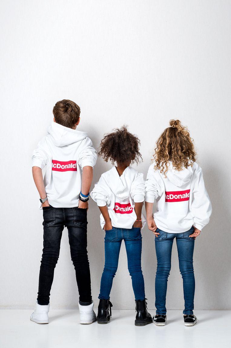 McDonald's lanceert hoodies voor kinderen.