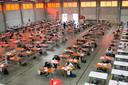 In juni hield het College nog examens in 't Bau-huis.