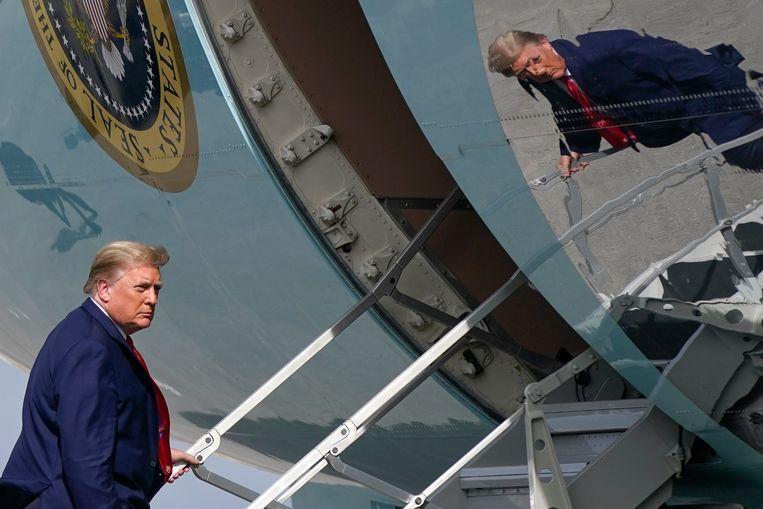 De bondgenoten van de Amerikaanse president Donald Trump in de Republikeinse partij kregen een nieuwe nederlaag te slikken in hun pogingen de verkiezingsuitkomst aan te vechten. Beeld AP