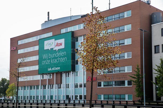 Het kantoor van AON in Eindhoven, kort na de overname van IAK door het bedrijf.