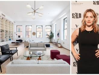 BINNENKIJKEN. Kate Winslet verkoopt gigantische loft van 4,7 miljoen euro in New York City