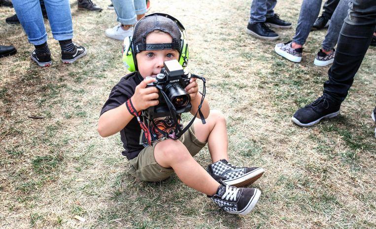 Jett Carette, de jongste rockfotograaf van het land