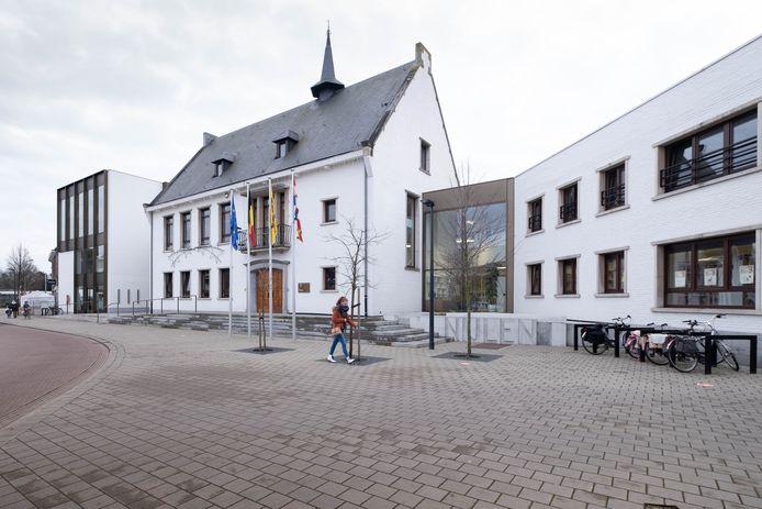 Het gemeentehuis van Nijlen.