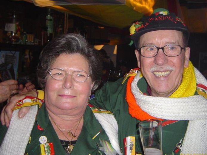 Annie en Theo van der Leest zijn zestig jaar getrouwd.