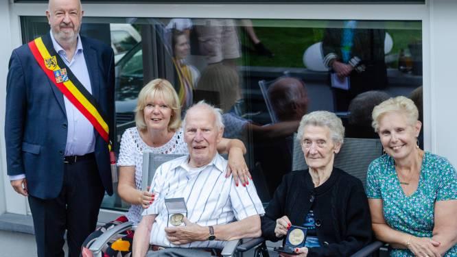 Maurice en Raymonde vieren briljanten huwelijksjubileum in Halle