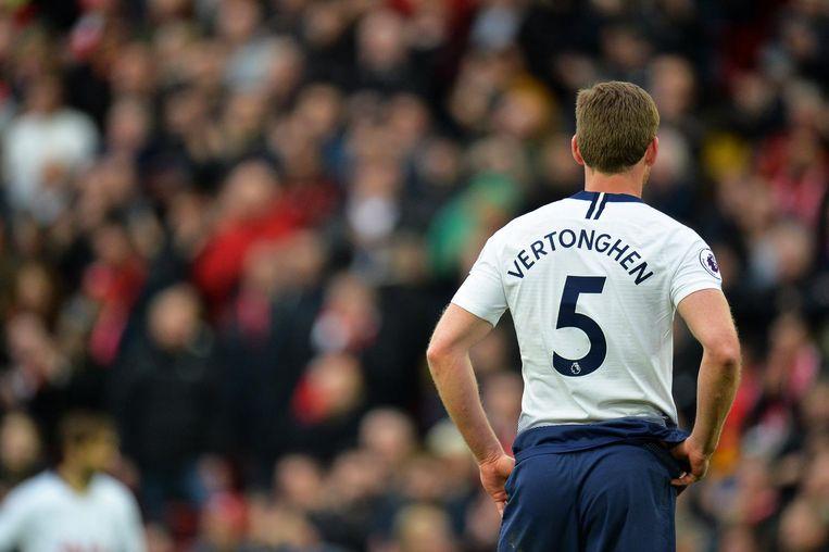 Vertonghen in het shirt van Tottenham Beeld anp
